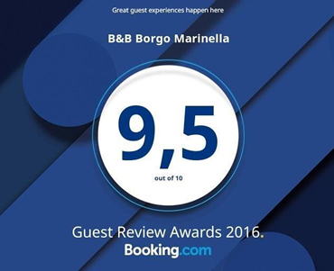Booking awards borgo marinella